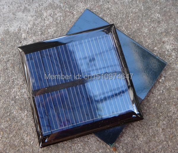 Wholesale 20PCS X 0.6W 5.5V 90mA polycrystalline Solar Panel Small Resin Solar Cell PV Module For DIY Solar Kits Free Shipping(China (Mainland))