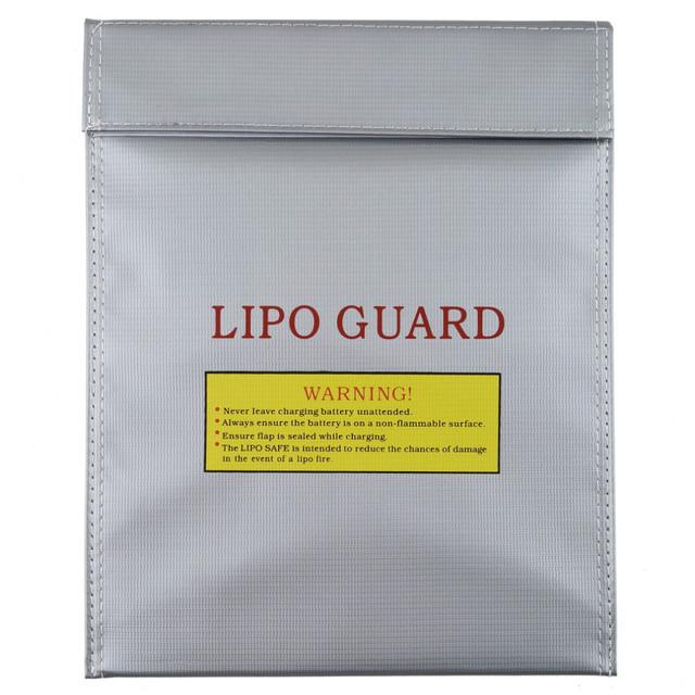 High Quality 180 x 230 mm RC Fireproof Lipo Li-Po Battery Safety Bag Case Guard Safe Bag Charge Sack