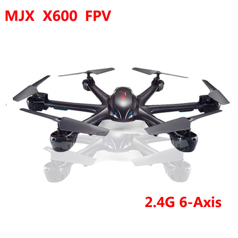 FPV MJX X600 RC Quadrocopter Drone 2.4G 6-axis 4CH RC Helicopter Drone Wifi C4002&C4005 HD Camera Headless Mode One-Key Return(China (Mainland))