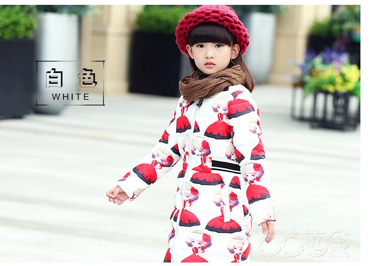Скидки на Зима хан издание развивать нравственность детей теплый хлопок-мягкие одежды Досуг мультфильм с толщиной хлопка-ватник куртка