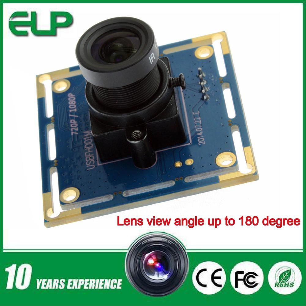Гаджет  1920X1080 30fps MJPEG  usb webcam camera hd 1080p ELP-USBFHD01M-L36 None Безопасность и защита
