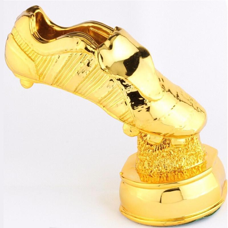 Super Golden Boot Trophy 2014 World Cup Award Champions League Premier League Soccer Ball Football Ball Fans Souvenir Trophies(China (Mainland))