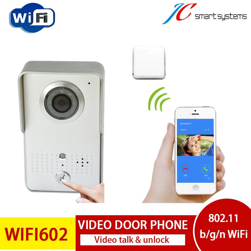 US Free Shipping!! Smart Door Eye Recording Wifivideo Door Bell With Camera Wireless Video Door Phone<br><br>Aliexpress