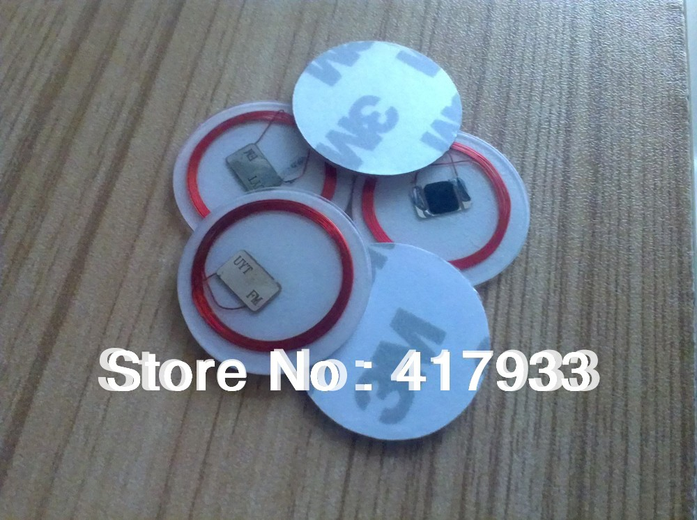 Free shipping(100pcs/Lot)HF 13.56Mhz Nfc Smart Card/Stickers/Tags for BlackBerry/ Sony /Nokia/ HTC /Android(China (Mainland))