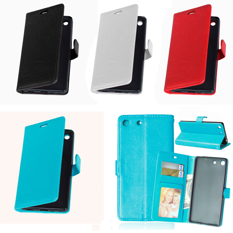 genuine leather Low profile luxury for sony xperia z1 compact case A rainbow of colors of the mobile phone holster(China (Mainland))