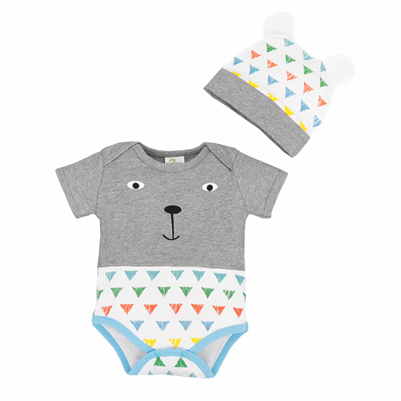 Baby Boy Girl 2 Pcs/Set Lovely Clothes Infantil Romper Newborn Coveralls Next Bebes Jumpsuits Rompers(China (Mainland))