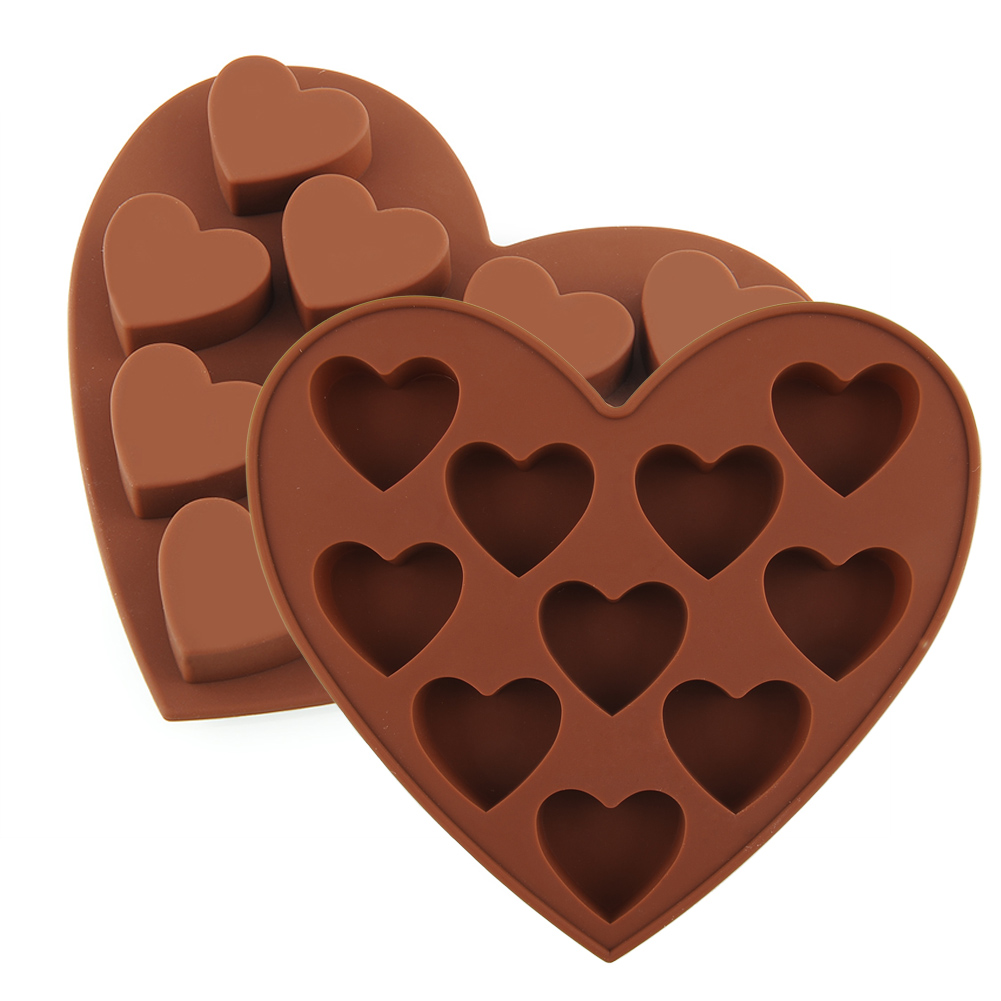 Heart Shape Silicone Cake Cookie Chocolate Mold Mould Ice Cube Tray Baking Tool Free Shipping (China (Mainland))