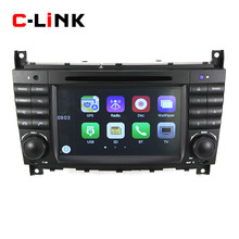"""7"""" Touch Screen Car Stereo Radio For Mercedes Benz W203 W209 2004-2007 GPS Navigation Bluetooth CD Video MP4 MP3 Player Free Map(China (Mainland))"""