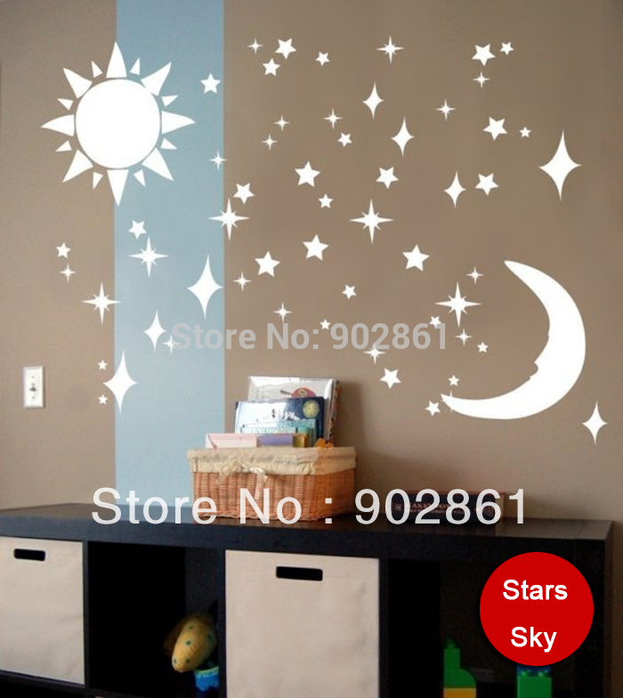 Funlife 80x55cm 32x22in 3d mirror decor wall stickers for Room decor 3d self adhesive wallpaper