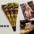 12 Шт. Golecha Черный Индийский Хна Тату Вставьте конус Тела Art временные поддельные татуировки хной боди-кит 25 г