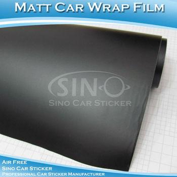 1.52x30M 5x98FT Air Bubble Free Matt Colors Car Color Change PVC Vinyl Film For Wrap Car