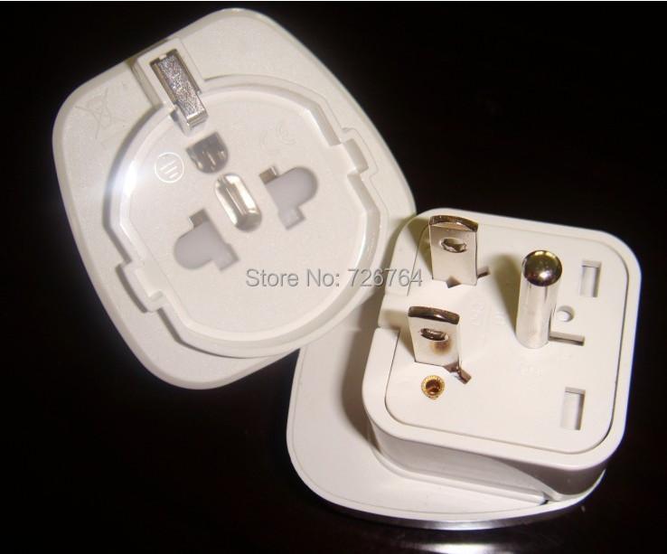 Travel Adaptor/Plug Converter American standard of a circle two flat pins Euro multi-jack, *CE Marked(China (Mainland))