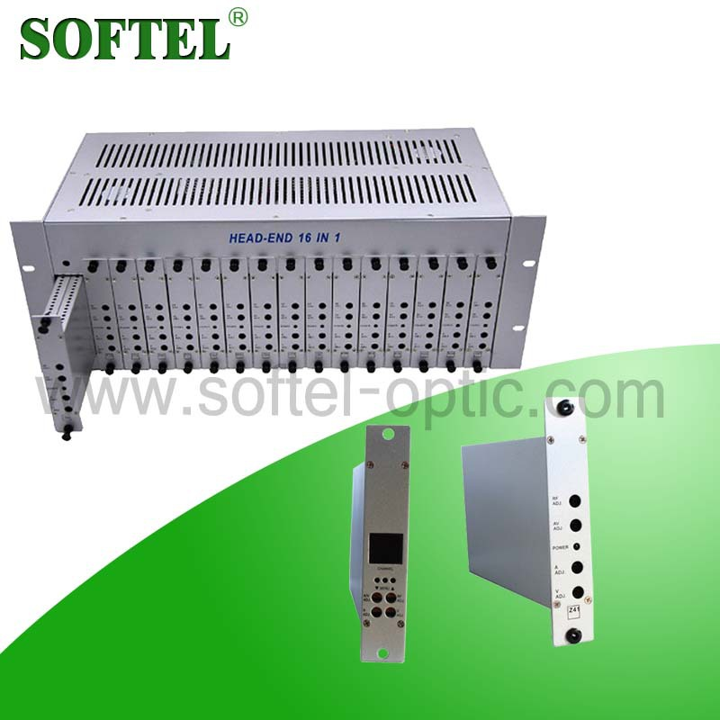 16 in 1 Fixed Modulator Combiner Amplifier(China (Mainland))