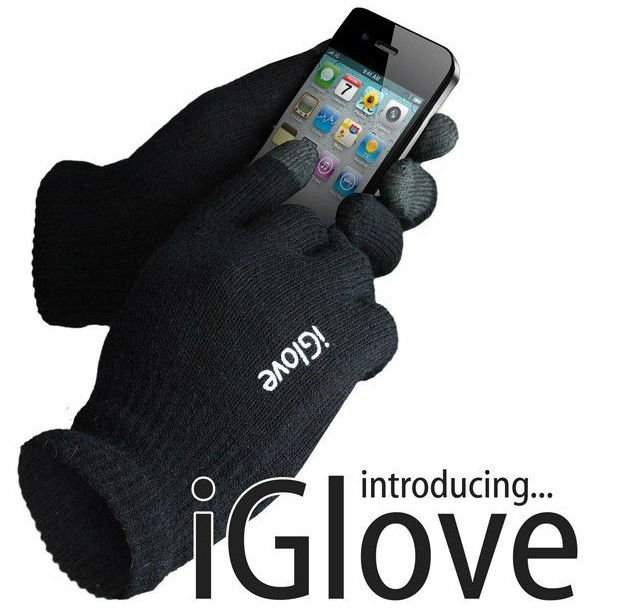 IGlove Screen touch gloves man women gloves without retail box Unisex Winter luvas Guantes Tactil for Iphone phone touch gloves(China (Mainland))