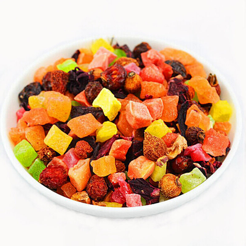 100g Chinese fruit tea delay senility flavored lose weight the Improve immunity blend tea Buy more than 2 packages & earn gifts(China (Mainland))