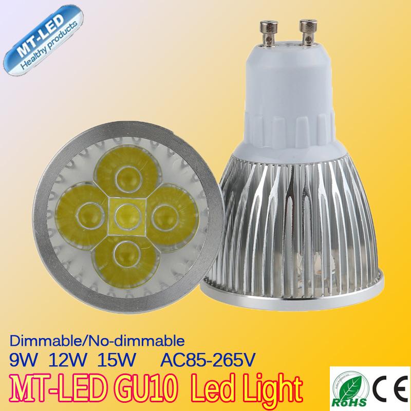 X1 Retail Free shipping High power GU10 12W 110-240V CREE Dimmable Led Lamp Led spot Light Spotlight led bulb downlight lighting<br><br>Aliexpress