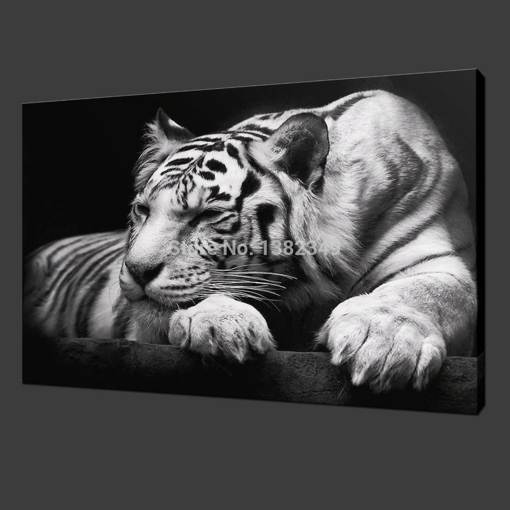2015 Oil Painting Cuadros Quadros Hot Sell! Wall Painting Animal And Tiger Paint On Canvas Prints Home Decorative Art Picture(China (Mainland))