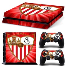New Arrival Skin for PS4 for Playstation 4 stickers La liga team Sevilla Futbol Club vinyl decal protective sticker cover