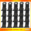 20 Pcs 45mm Bi metal oscillating Tool Saw Blades accessories for Multimaster power tool as Fein