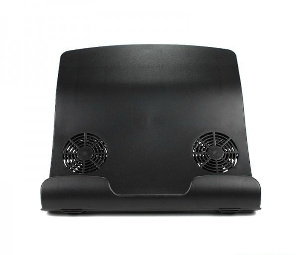 Kingsons double fan laptop cooling pad computer human body mount idu9(China (Mainland))