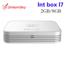 Buy Amlogic S912 Qcta Core Intbox i7 TV Box Android 6.0 2G/8G Set Top Boxes 2.4GHZ 5GHZ Dual Wifi HD 4K 1080P Smart Media Player for $54.52 in AliExpress store