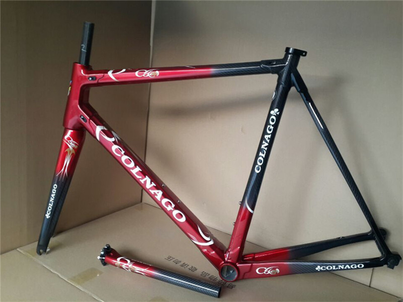 C60 Colnago carbon road bike frame full carbon fiber,free shipping, bicycle frame XS/S/M/L,Colnago M10,c60(China (Mainland))