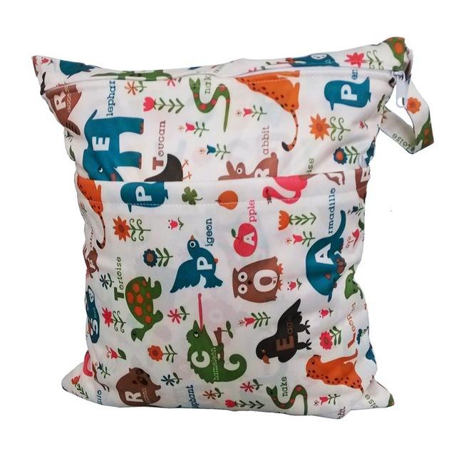 Стирать многоразовые ткань пеленки влажная мешок / водонепроницаемый спорт дорожная ...