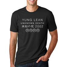 Buy Letter Printed YUNG LEAN UNKNOWN DEATH Sad Boys T-shirts Men's Streetwear Short Sleeve O-Neck T Shirts 2017 Summer Hip Hop Tops for $6.44 in AliExpress store