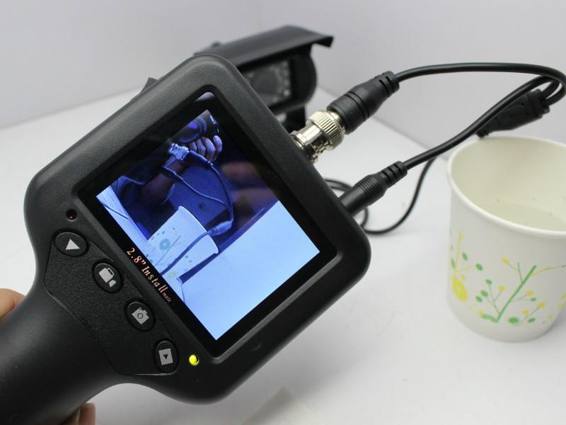 "Гаджет  2.8"" TFT LCD Monitor CCTV Tester Camera Video Box DC5V/Input With DVR Record None Безопасность и защита"