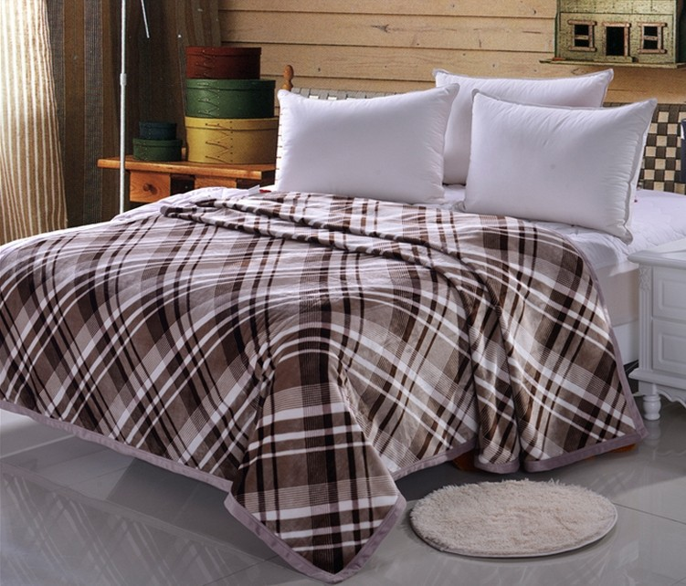 ! 200*230 soft blanket flannel towel air conditioning coral velvet bedspread 17 color - shuxian zhao's store