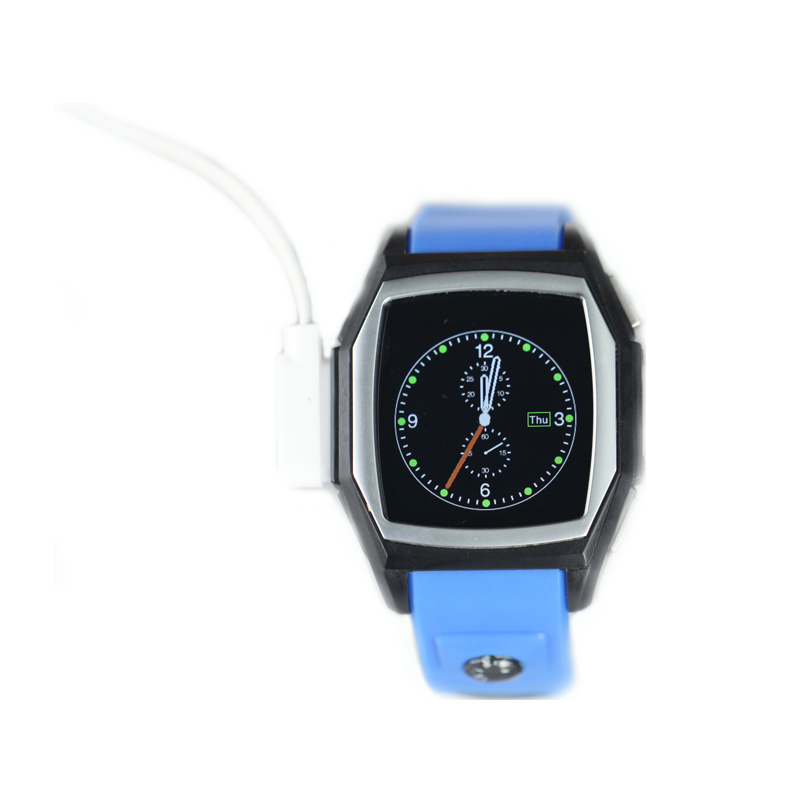 GT68   Orange 1.54 Waterproof  Bluetooth GPS SmartWatch Phone Mate For Android with device pedometer fitness<br><br>Aliexpress