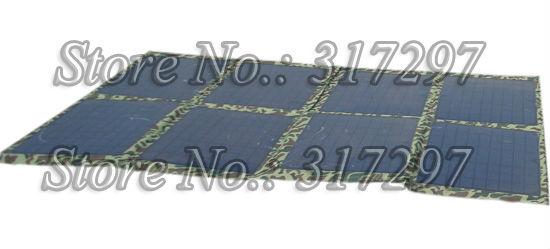 Free Shipping 80W 12V Universal folding solar panel kit for motorhome, caravan, car, camper, boat or other 12V system(China (Mainland))