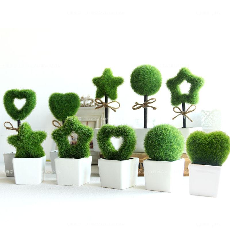 Acheter mobilier vert bonsa plante for Plante artificielle solde