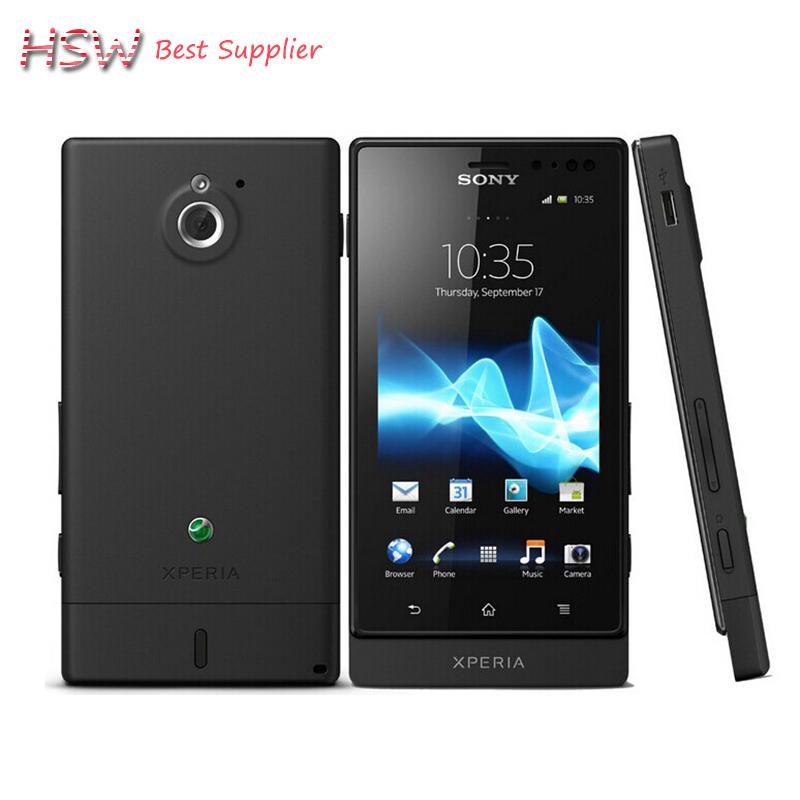 Sony Xperia Sola MT27i Original Unlocked Cell Phone Sony Ericsson MT27i 8GB Dual-core 3G GSM WIFI GPS 5MP free shipping(China (Mainland))