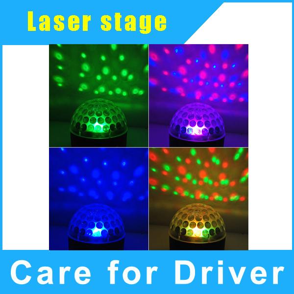New DMX 512 LED Disco DJ Magic Ball Light Party RGB Laser Staging Light<br><br>Aliexpress