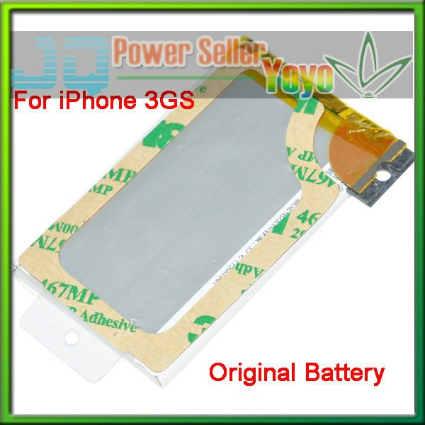 Original Battery For iPhone 3GS Free Shipping Retail 10pcs/lot(China (Mainland))