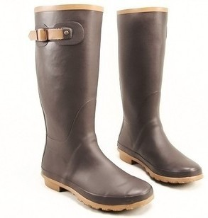 Brown Rain Boots - Boot Hto