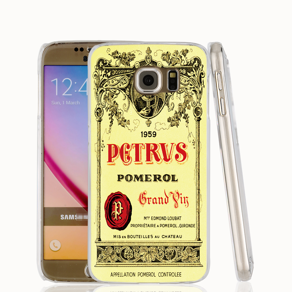17097 Cool Chateau Petrus Wine 1990 Logo cell phone protective case cover for Samsung Galaxy A3 A5 A7 A8 A9 2016(China (Mainland))