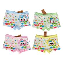 Buy High Quality 4 Pieces / Pack Girl Underwear Baby Boxer Underwear Kids Panties Child's Shorts Nurseries Children's Briefs