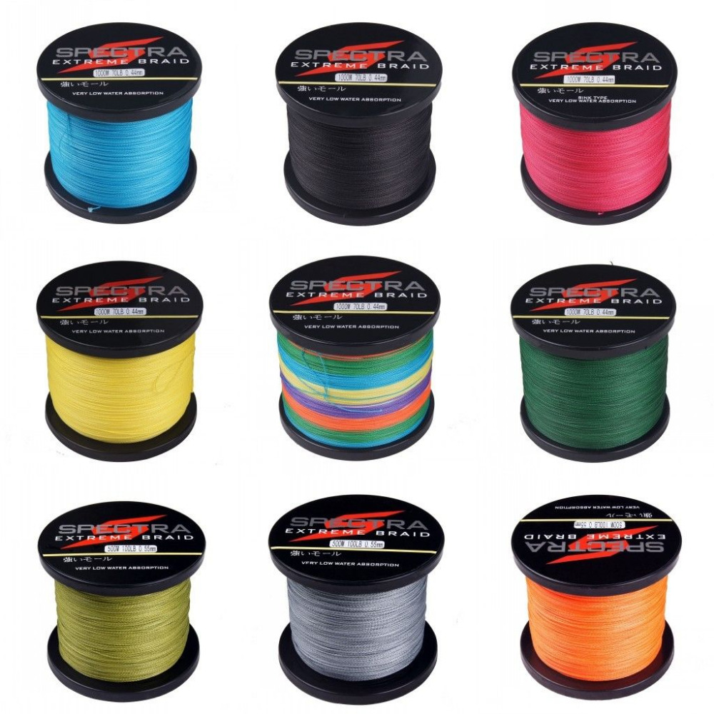Superpower 500m 6LB - 100LB Braided Fishing Line PE Strong Multifilament Fishing Line Carp Fishing Saltwater(China (Mainland))