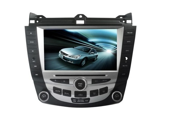"""Free shipping--Car DVD player for 8"""" Honda Accord 7 2003-2007 with GPS,Radio, touch screen,TV, Bluetooth, HD screen, Free 8G Map(China (Mainland))"""