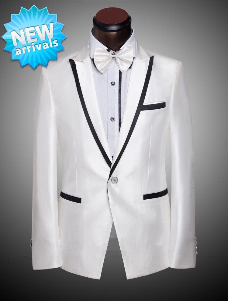 Traje de ba o blanco hombre for Trajes de novio blanco para boda