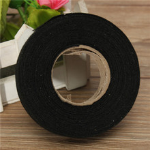 New 19mmx 15M Hot Adhesive Cloth Fabric Tape Cable Looms Wiring Harness For Car Auto(China (Mainland))