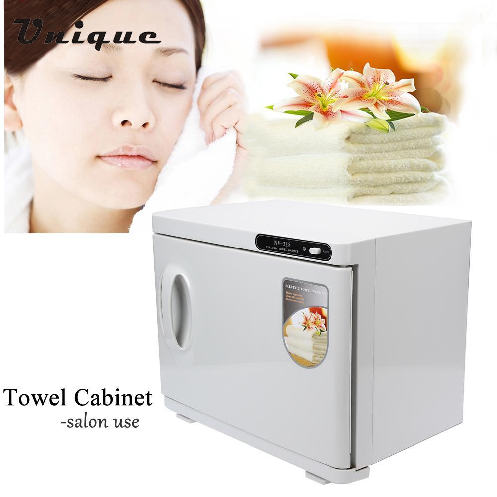 200W 23L Hot Towel Sterilizer Cabinet Professional Nail Hair Tools Beauty Salon Tool UV Sterilizing Warmer 110V US Plug(China (Mainland))