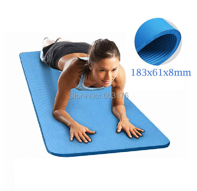 2015 New Extra Thick 71 Inch Nbr Comfort Foam Fitness Yoga