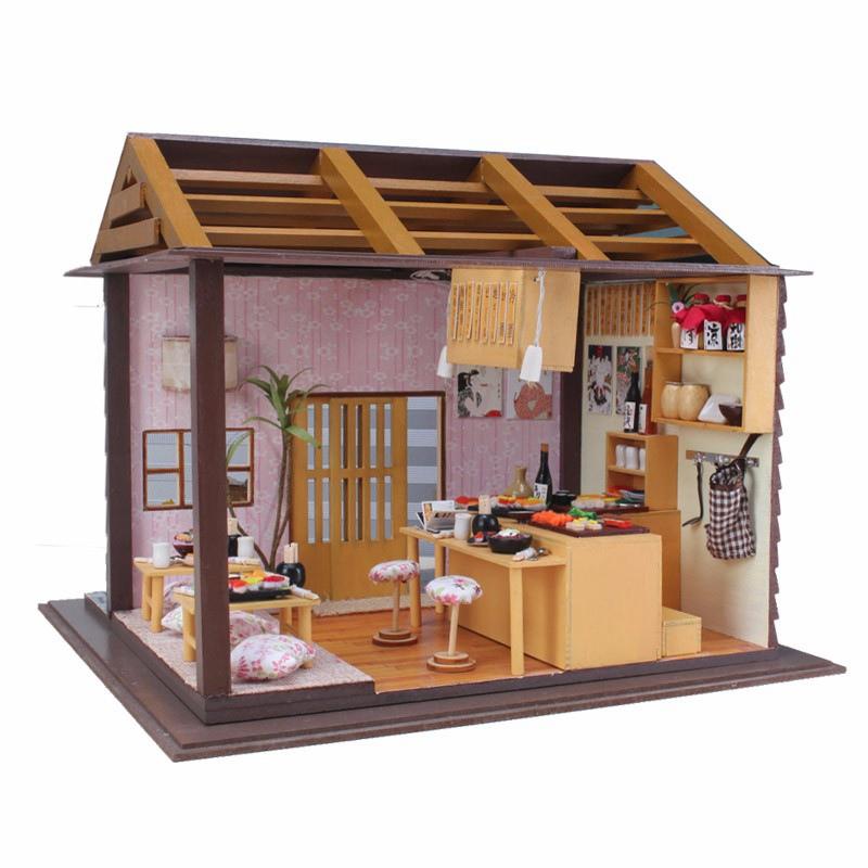 achetez en gros japonais dollhouse en ligne des grossistes japonais dollhouse chinois. Black Bedroom Furniture Sets. Home Design Ideas