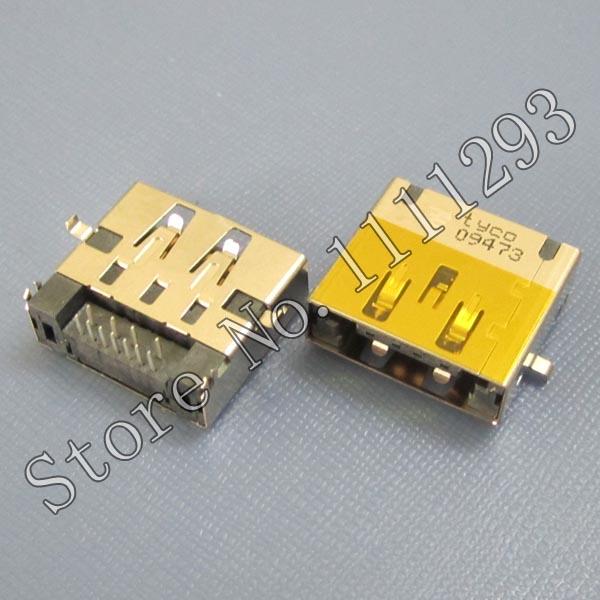5pcs/lot eSATA USB Connector for Lenovo ideapad Y460 Y470 Y470N Y470P Y570 motherboard etc Laptop USB2.0 port(China (Mainland))