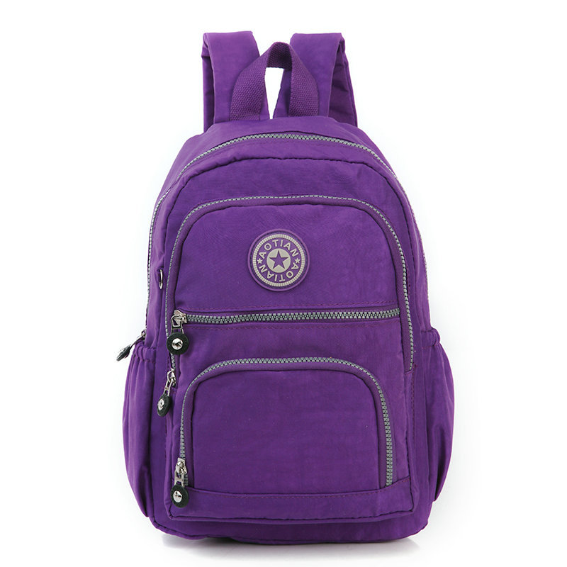 2016 Fashion Light Waterproof Women 39 S Canvas Backpack School Bag For Girl Ladies Teenagers