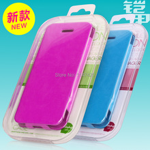 100pcs/Hot selling Acrylic mobile phone packaging box for iphone5 5S 5C S3 S4 Cell Phone Case Packaging With PVC Window KJ-256