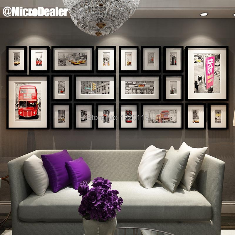 Large Wall Frames wall picture frames. . . wall picture frames 10pcs combination